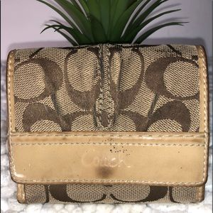 Coach Preowned Signature Wallet